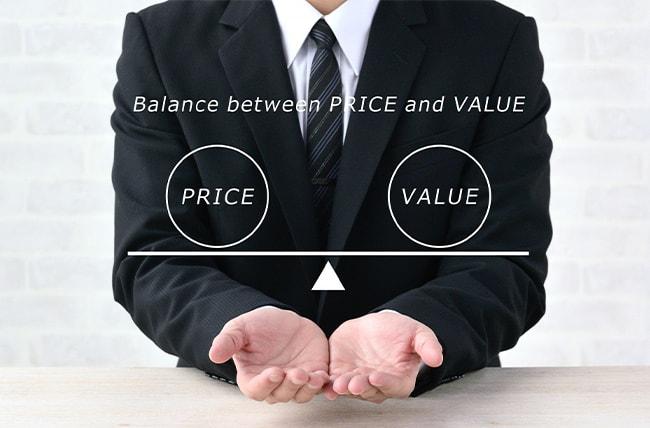 買取額で他社と差